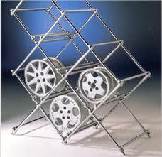 Рекламная стойка для колес